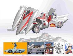 Speed Racer Mach 5 - SOLIDWORKS - 3D CAD model - GrabCAD
