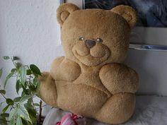 soft pillow bear   baby pillow bear stuffed by MadeByMiculinko, $40.00