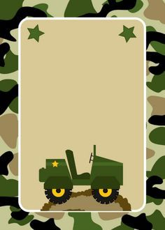 Shop Army Military Camo Birthday Party Invitations created by mymess. Army Birthday Parties, Army's Birthday, Office Birthday, Kids Birthday Party Invitations, Birthday Party Themes, Army Party Decorations, Army Decor, Military Party, Kids Cards