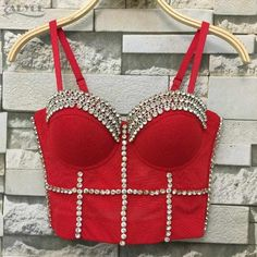 Red Hot Crop Top! @uzrah.com