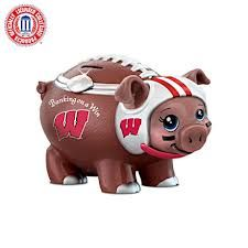 Wisconsin pigskin bank