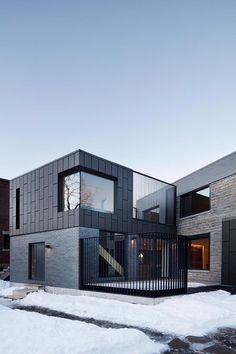 Designing modern extensions and renovations is never easy. The architect must carefully straddle the knife edge between preservation and modernization, often a tricky magic act that requires discipline and creativity. Naturehumaine has done just that with the Residence McCulloch in Montreal, Canada, transforming an ancient brick manor into an exquisite modern mansion. The existing residence …