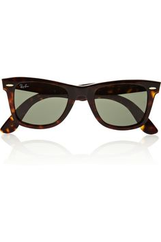 tortoise wayfarer / ray-ban...need these!