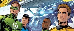 IDW Readies Trek Comics for December   The holidays are still a few months away but IDW Publishing already has their eye on December. And they've given StarTrek.com an exclusive First Look at their Star Trek comic book adventures set for release that month. First up is Star Trek: Boldly Go #3 written by Mike Johnson with art by Tony Shasteen and a George Caltsoudas cover. Boldly Go #3 will continue the popular new ongoing Trek series as Captain Kirk and the crew of the U.S.S. Endeavour face…