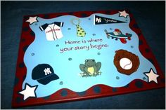 Home is Where Your Story Begins 16x20 personalized by enowotny1, $49.00