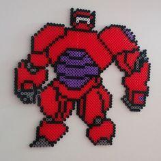 Big Hero 6 Baymax hama beads by cristipu - Pattern: https://www.pinterest.com/pin/374291419006700861/