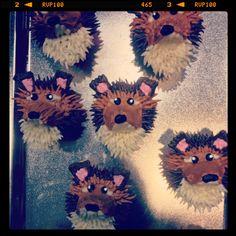 Sheltie cupcakes