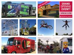Arizona families are invited to spend an epic afternoon experiencing Ferris wheel rides, BMX half-pipe demonstrations, the popular video game attraction Gamez on Wheelz, food trucks and more at the grand opening of Northlands in Peoria on Saturday, April 5, from 11 a.m. to 2 p.m. Driving directions: http://www.taylormorrison.com/new-homes/arizona/phoenix/peoria/northlands-encore-collection-community/driving-directions #grand #opening #familyfun #foodtrucks