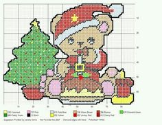 SUGARPLUM PIE BEAR by JEWELS GEMS -- WALL HANGING