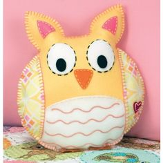 Owl Pillow kit
