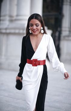 Black and White Dress Dresses Near Me, Next Dresses, Short Dresses, Dresses For Work, Prom Dresses, Dress Outfits, Fashion Dresses, Frack, Luxury Dress