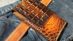 Check out this item in my Etsy shop https://www.etsy.com/listing/232864811/custom-leather-phone-holster-wswivel