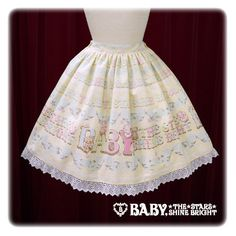 B39SK514 Kumya Chan's Sugar Baby Icing Cookie Skirt /// $172.00 /// Length: 52 cm ( 20.47 inch ) Waist: 60 ~ 98 cm ( 23.62 ~ 38.58 inch )