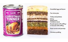 Yep now we know it's gone tooooo far!! GAME to offer 'Christmas dinner in a tin' for gamers - Telegraph