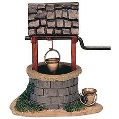 Lemax Decoration Water Wishing Well,Christmas Cake Decorating Village Figure Lemax Village, Christmas Village Display, Christmas Villages, Christmas Traditions, Christmas Houses, Christmas Things, Christmas Time, Christmas Crafts, Christmas Village Accessories