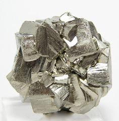 Pyrite a.k.a. Fools Gold crystals cluster flower / China