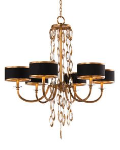 Black+Tie+6-Light+Chandelier+by+John-Richard+Collection+at+Neiman+Marcus.