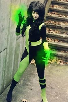 Shego from Kim Possible Cosplayer: Mie-Rose Cosplay Photographer: Kami Renee