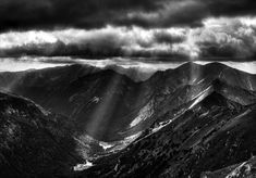 Tatra Mountains, PolandUnder the name of lonelywolf2 on Deviantart, this Polish man has an incredible eye for landscapes. His black and white photography o