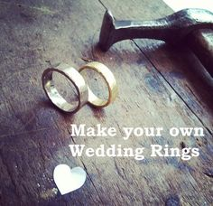 What could be more special than hand crafting each others wedding rings. You will be expertly guided through the process to create your rings, from design to heating, shaping, hammering, soldering and finally finishing ready to be sent to the Assay Office to be Hallmarked.  I will also do any additional finishing, polishing and resizing for you which is included in the price.When booking we will discuss what materials you would like to use so I can order them prior to your wor...