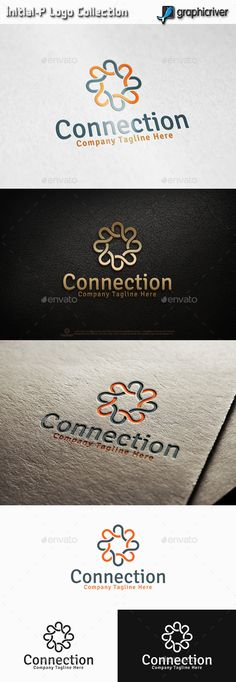 Connection Logo  #infinity #human #consult logo • Click here to download ! http://graphicriver.net/item/connection-logo/13462115?ref=pxcr