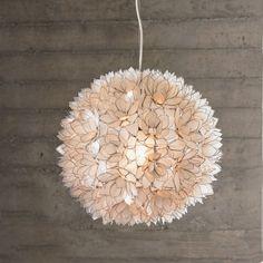 Lotus Flower Chandelier-Pearl