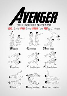 darebee.com/workouts/avenger-workout.html