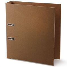 Kraft recycled A4 lever arch file (storage)