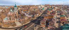 Birdseye view of Irkutsk, Russia - AirPano.com • 360° Aerial Panorama • 3D Virtual Tours Around the World