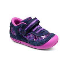 1a4dfa2ded4 Stride Rite SRT Soft Motion Jazzy Sneaker Navy Pink