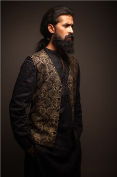 Pakistani model Abbas Jafri.