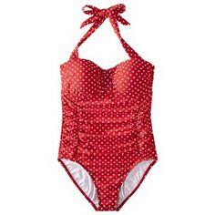 Merona® Women's Polka Dot 1-Piece Swimsuit -Assorted Colors