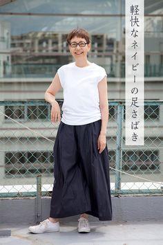 News お知らせ in 2019 Japanese Minimalist Fashion, Minimal Fashion, Japanese Fashion, Women's Fashion Dresses, Skirt Fashion, Casual Dresses, Mature Fashion, Daily Fashion, Fashion Fashion