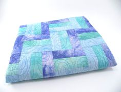 Baby Boy Quilt Crib or Cot Blanket Fabric by SonyaBensonQuilts, $130.00