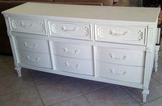 Fisherman's Wife Furniture Dresser: white dresser