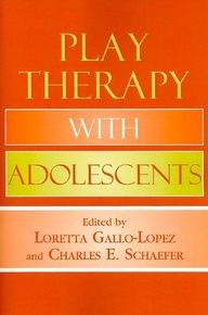 Play Therapy with Adolescents. Offers a complete variety of play therapy approaches specifically geared toward adolescents. | #books #counseling #children