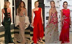 25 LOOKS DAS FESTAS PÓS-OSCAR!    por Thereza Chammas | Fashionismo       - http://modatrade.com.br/25-looks-das-festas-p-s-oscar