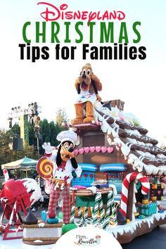 Celebrating Christmas at the Disneyland Resort is simply magical! Here are the top tips on maximizing your vacation time with Christmas at Disneyland. This is the ultimate Disney guide on seasonal off. Disneyland Secrets, Disneyland Vacation, Disney Vacation Planning, Disneyland California, Disney Vacations, Disney Trips, Family Vacations, Disneyland Parade Times, Travel