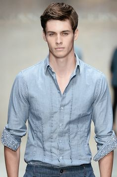Joe Collier at Ermanno Scervino menswear s/s 2014