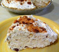 New Cake Recipes: Butterfinger Pie