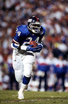 Ottis Anderson, #24 New York Giants