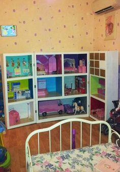Photo maison barbie finie 8 - Fabriquer maison barbie ...