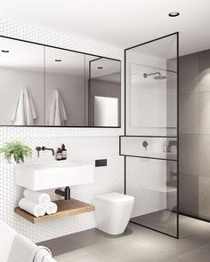 Modern Small Bathroom Design The Basic Components of Modern Bathroom Designs Modern Small Bathroom Design. Incorporating a modern bathroom design will give you a more …