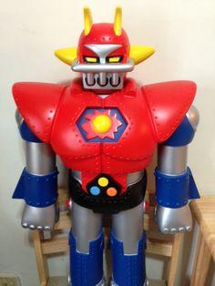 I like fixing Jumbo Machinder   Robot-Japan
