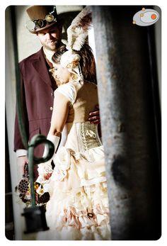 Teresa + Erics Pontiac Steampunk Wedding~!