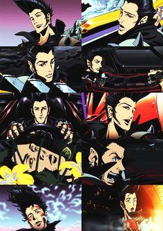 JP Manga Art, Manga Anime, Anime Art, Redline Movie, Space Dandy, Character Art, Character Design, Manga Games, Yin Yang