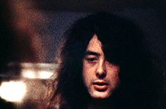 Wonder if he see what I see when he looks in the mirror? If he does he must love himself a lot...JW -  jimmy page gif