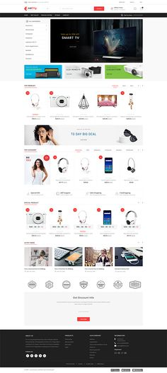 Exactly- The Mega Mall Template – KinderMode Ecommerce Website Design, Website Design Layout, Computer Theme, Ecommerce Template, Web Design, Photoshop, Best Templates, Website Themes, Pet Store