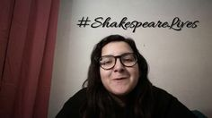 #shakespearelives ; 58 seconds of Shakespeare.-