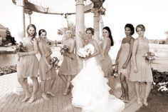 #WeddingPictures @OdysseyCountryClub in Tinley Park, IL #Bridesmaids